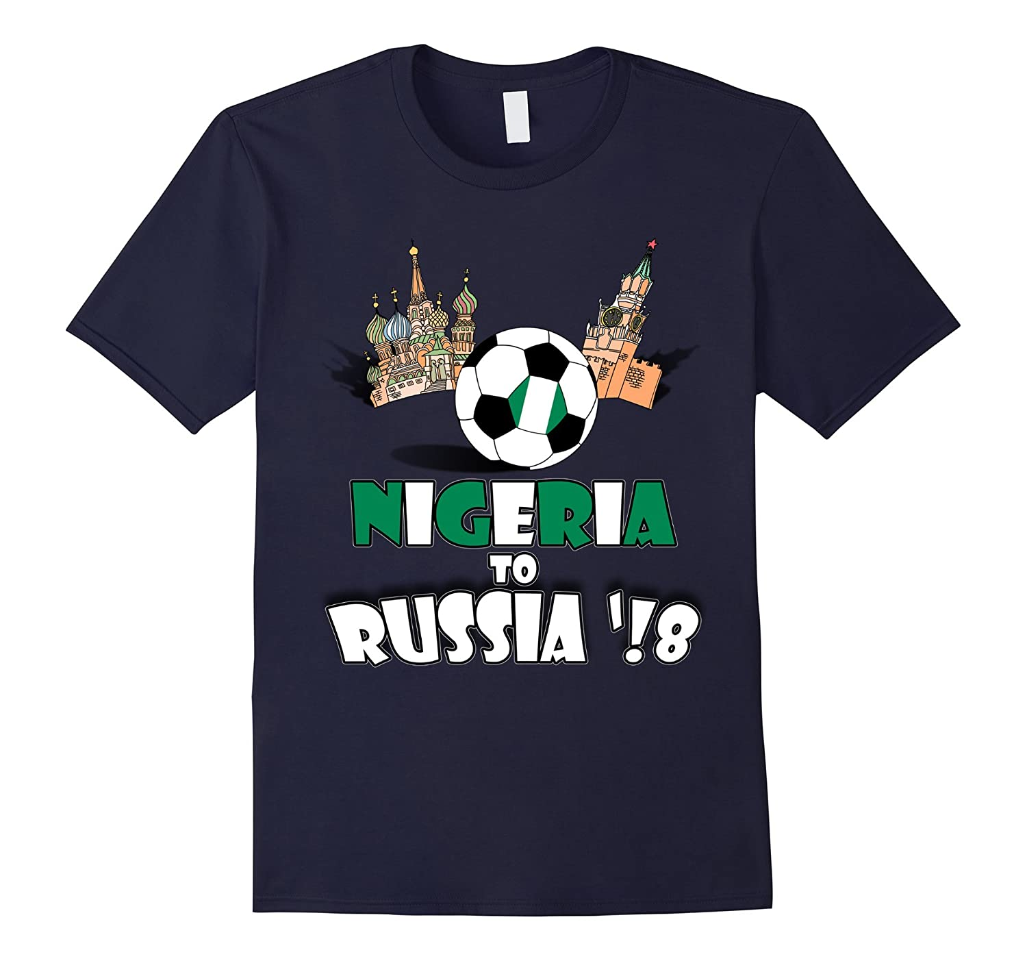 Nigeria National Soccer Team to 2018 Cup T-Shirt-FL