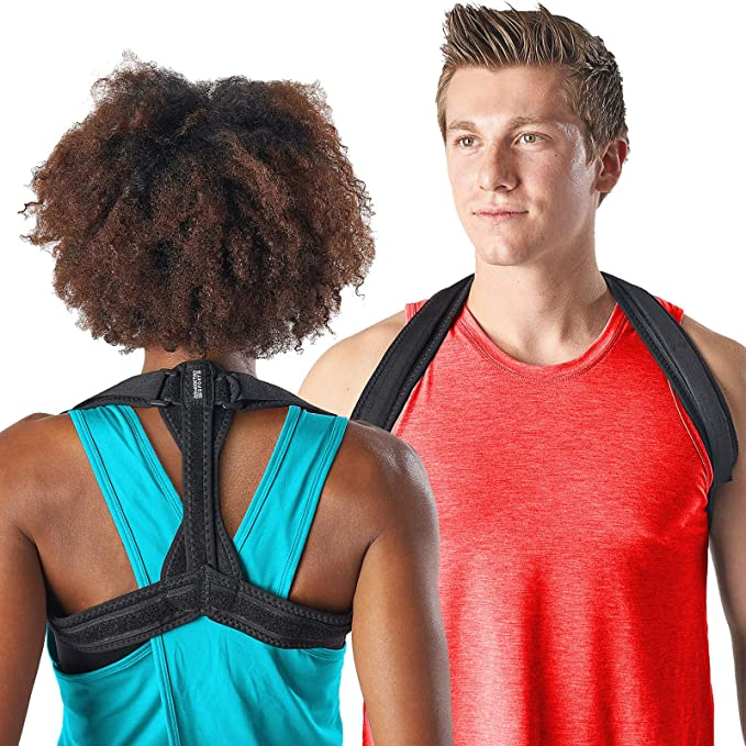 Tiharny Physical Therapy Posture Brace for Men or Women