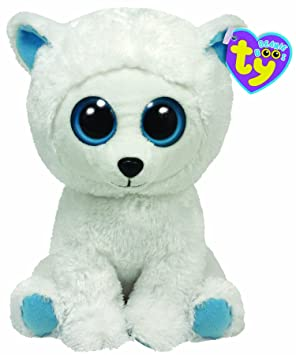 4dc49b5c88b Ty Beanie Boos Tundra Plush - Polar Bear  Amazon.co.uk  Toys   Games