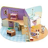 Fuzzikins Craft Cotton Tail Cottage/2Süße conejita y un