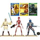 "Hasbro Battle Pack ""Geonosis Arena Battle"" mit Jango Fett, Battle Droid & Obi-Wan Kenobi - Star Wars Movie Heroes Collection"