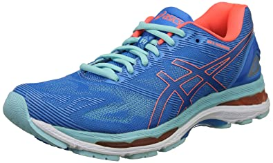 Amazon.com | ASICS Gel-Nimbus 19 [T750N-4306] Running Diva Blue ...