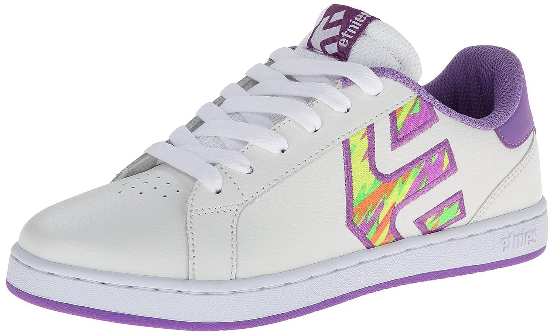 Etnies Fader LS Skate Shoes Women White/Purple/Blanc Taille