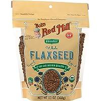 Bob's Red Mill Organic Flaxseed Brown, 368 gm