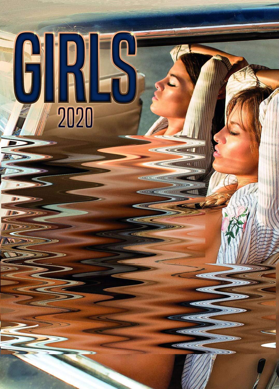 Girls Poster Wall Calendar