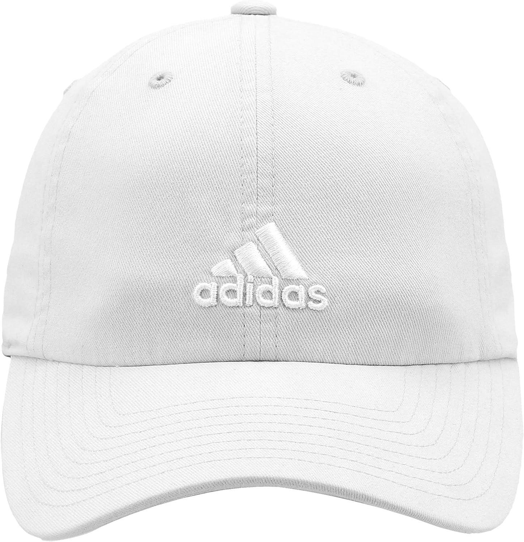 adidas Women's Saturday Cap, White/White, ONE SIZE: Clothing
