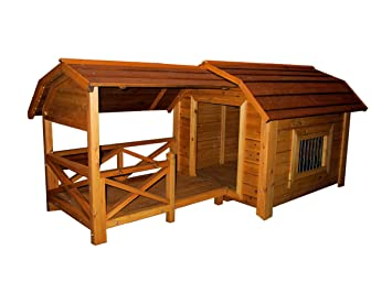 merry pet the barn wood pet house large