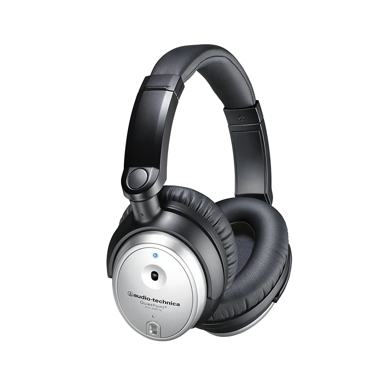 77ea0204687 Amazon.com: Audio Technica ATH ANC7B Active Noise Cancelling Headphones:  Home Audio & Theater