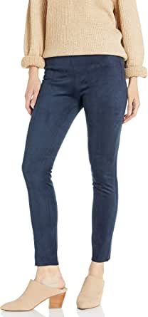 Armani Exchange A X Women's Suede Form Fitting Leggings