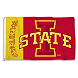 NCAA 3-by-5 Foot Flag with Grommets, Iowa State