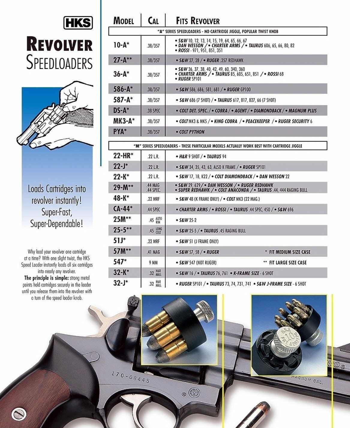 Nimrod's Wares 3-Pack HKS Speedloader  38  357 S&W Dan Wesson Charter  Taurus 10A Microfiber Cloth