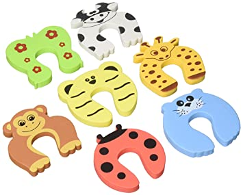 EasyLifeCare Children Safety Finger Pinch Cartoon Animal Foam Door Stopper Cushion Bundled Carton Monster Baby  sc 1 st  Amazon.com & Amazon.com : EasyLifeCare Children Safety Finger Pinch Cartoon ...