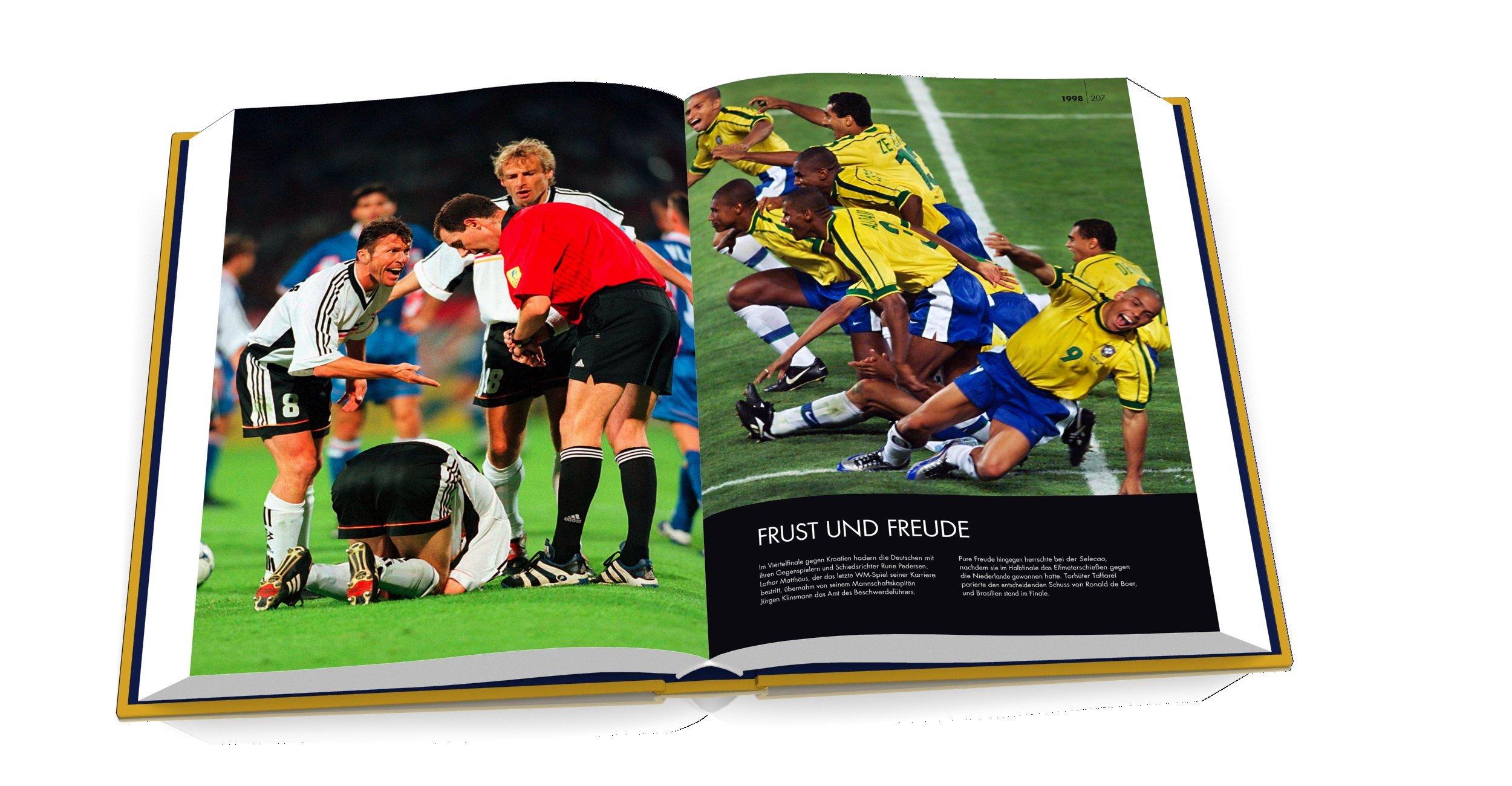 Das Goldene Buch Der Fussball Weltmeisterschaft Amazon Co Uk
