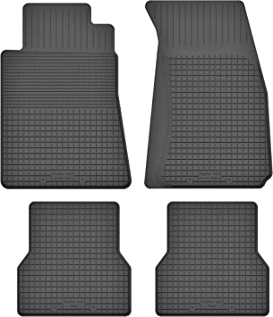 Ko Rubbermat Gummimatten Fußmatten 1 5 Cm Rand Geeignet Zur Honda Cr V Ii Bj 2001 2006 Ideal Angepasst 4 Teile Ein Set Auto