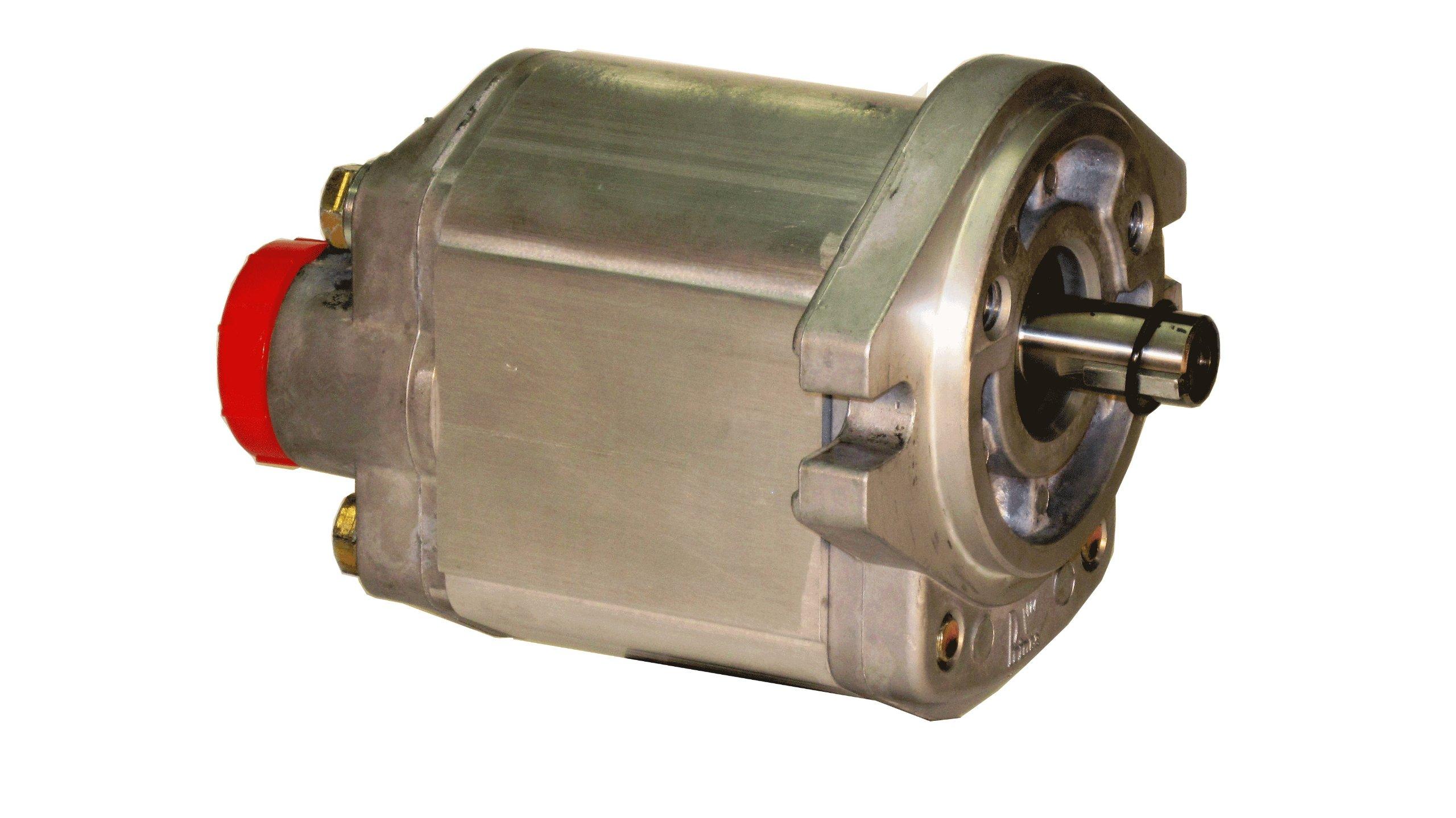 Prince Manufacturing SP20B11D9H2-R Hydraulic Gear Pump, 24.38 HP Motor, 3000 PSI Maximum Pressure, 11.4 GPM Maximum Flow Rate, Clockwise Rotation, Self-Lubricating, SAE A Flange, Aluminum