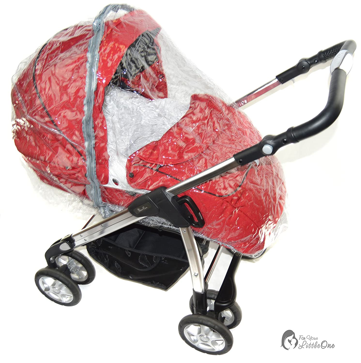 Raincover Compatible with Silver Cross Freeway Pram Pushchair
