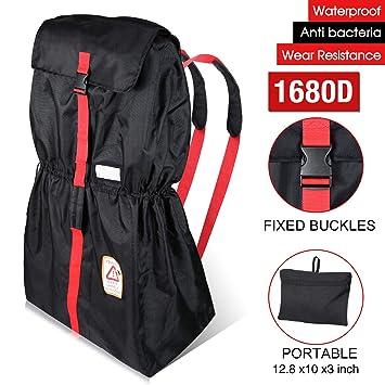 Amazon.com   Modokit 1680D Durable Stroller Bag Airplane Travel Gate Check  Bag Stroller Storage Pouch d6458ac33f286