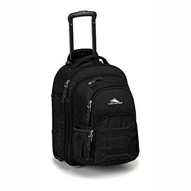a4e82c8cfda High Sierra Ultimate Access 2.0 Carry-On Wheeled Backpack with Removable  Daypack Black