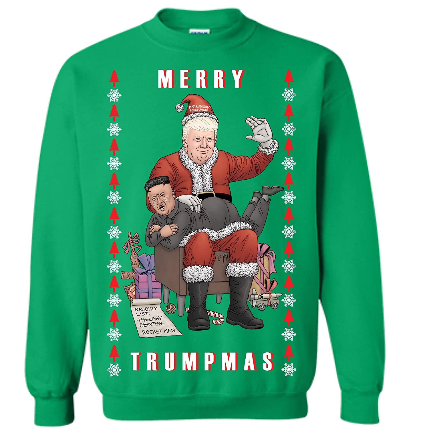 Political Ugly Christmas Sweaters