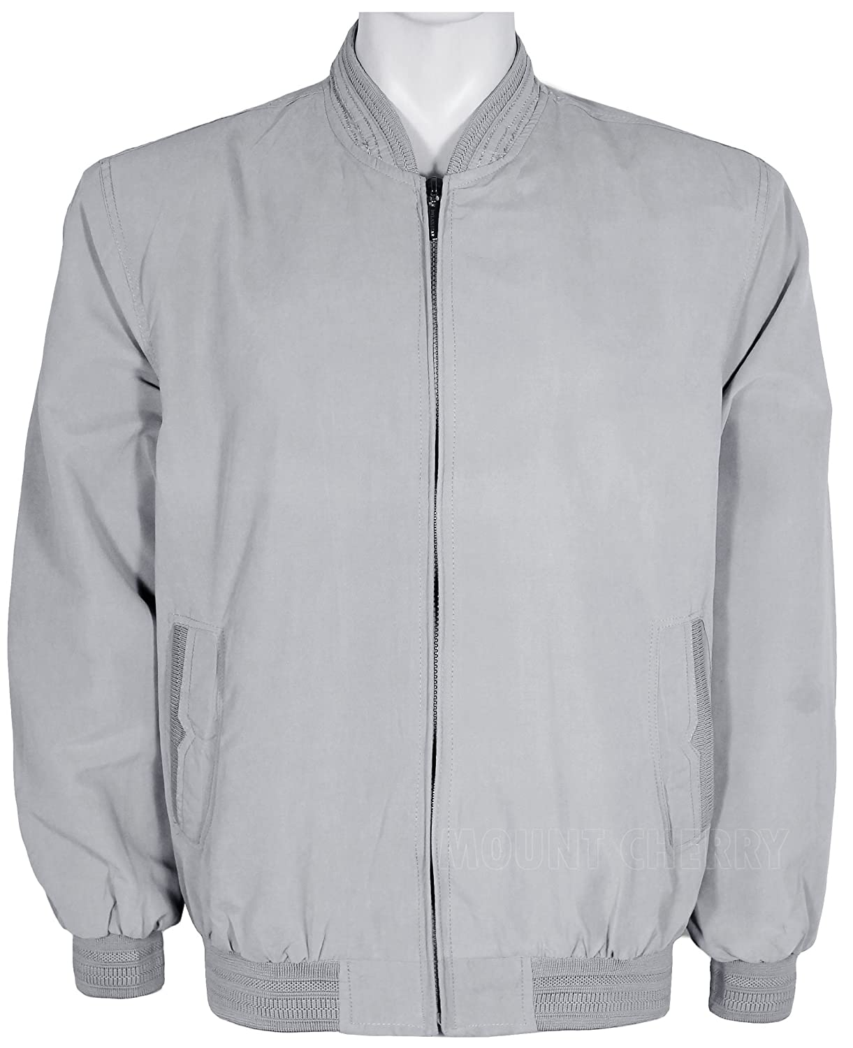 Mens Summer Lightweight Jacket Grey (Medium, Grey): Amazon.co.uk ...
