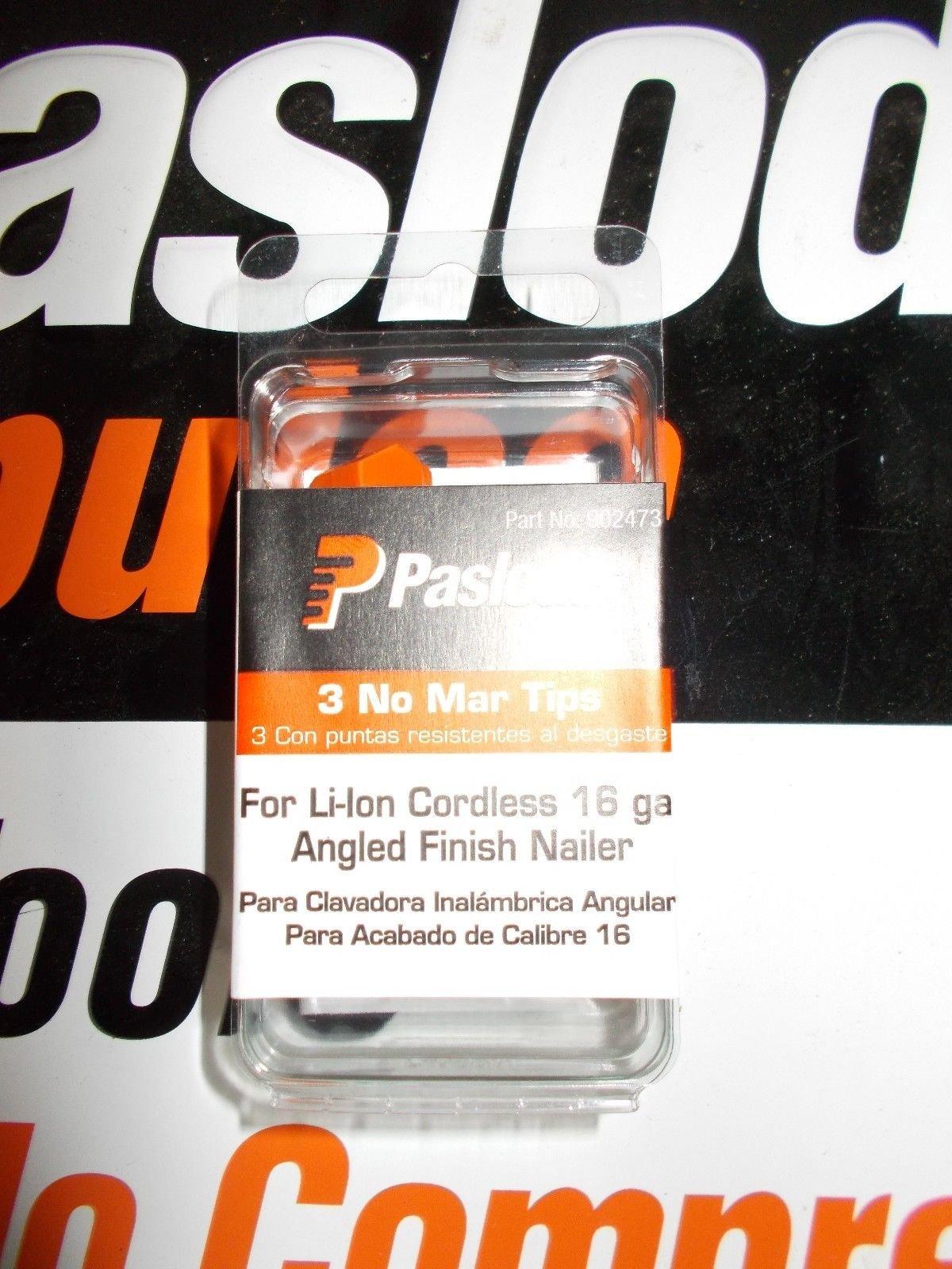 NEW Paslode 902473 No Mar Tip 3 Pack 16 Ga. Angled Li-ion Trim Gun FITS 902400