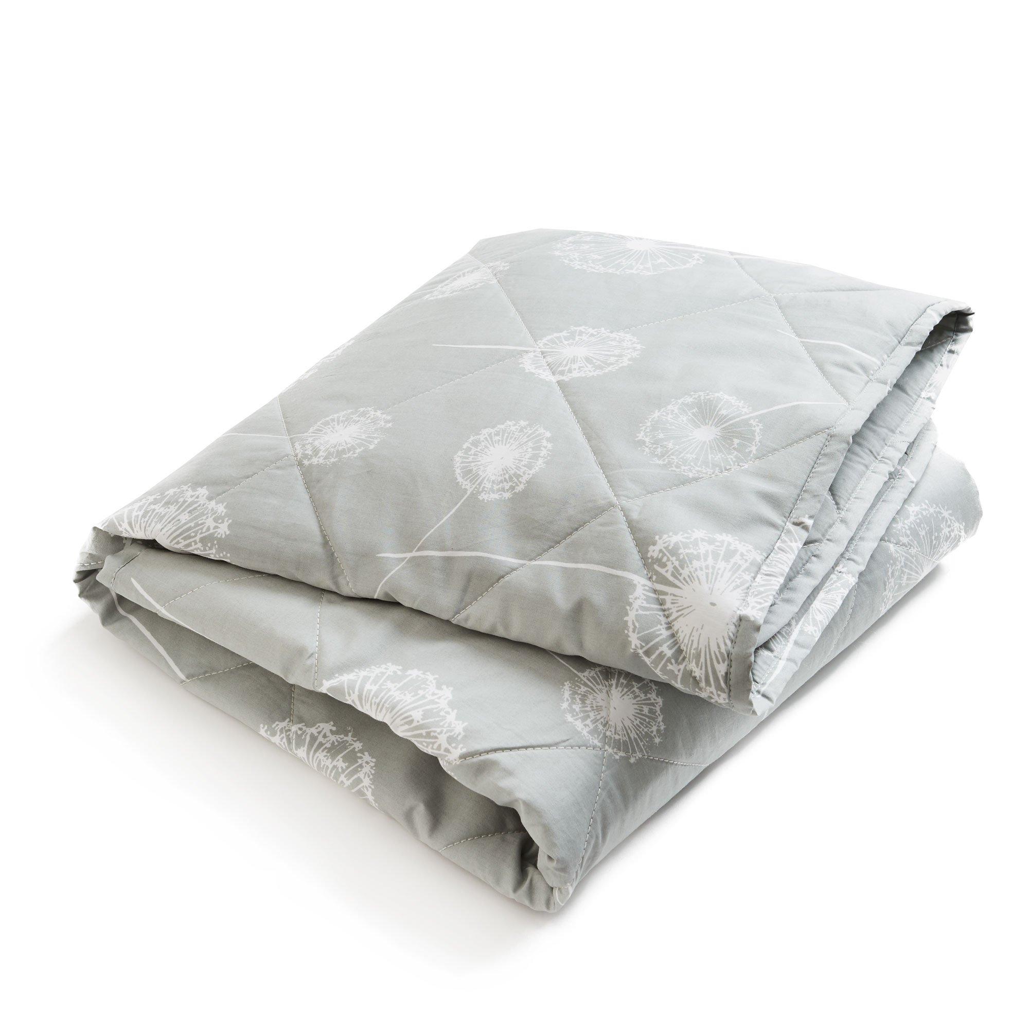 Brooklyn Born Organic Quilt - Wishes & Dreams, Grey/White, One Size by Brooklyn Born
