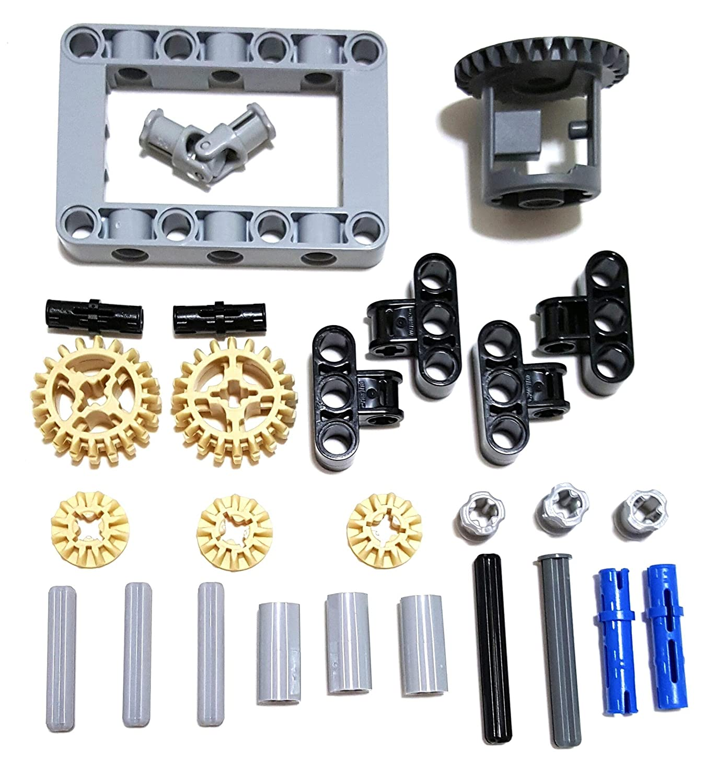 Amazon Lego Technic Differential Gear Box Kit Gears Pins