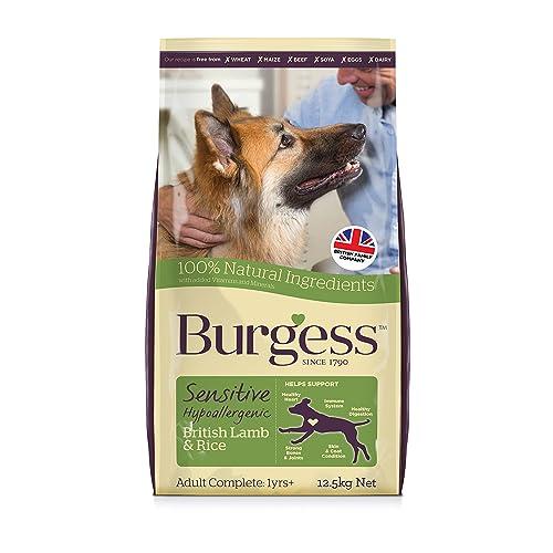 Amazon Burgess Dog Food