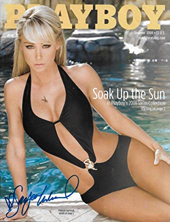 Sara Jean Underwood Signed Playboy Summer 2008 Catalog Magazine Coa Auto Psa Dna Certified At Amazons Entertainment Collectibles Store