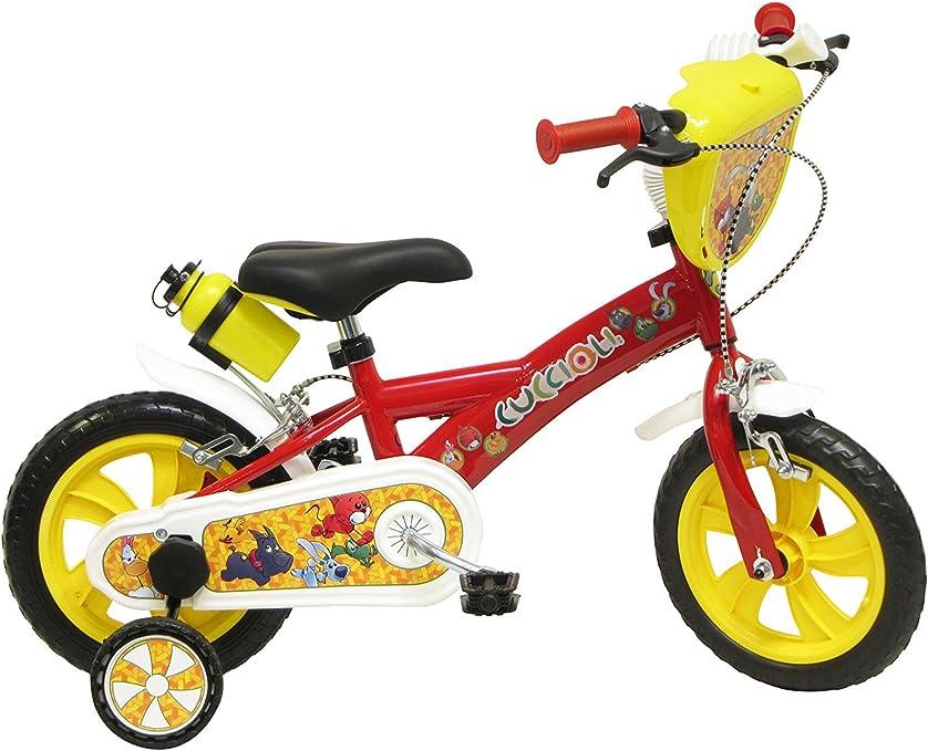 Disney Frozen-Bicicleta para niño 14 Pulgadas, Color Blanco y Azul ...