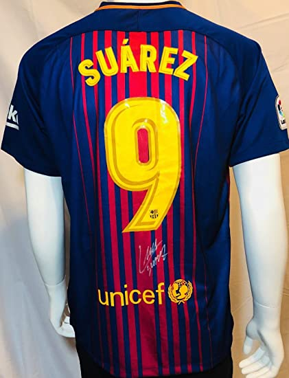 fd36f42018c Signed Luis Suarez Jersey - Nike Beckett BAS COA - Beckett Authentication -  Autographed Soccer Jerseys at Amazon's Sports Collectibles Store