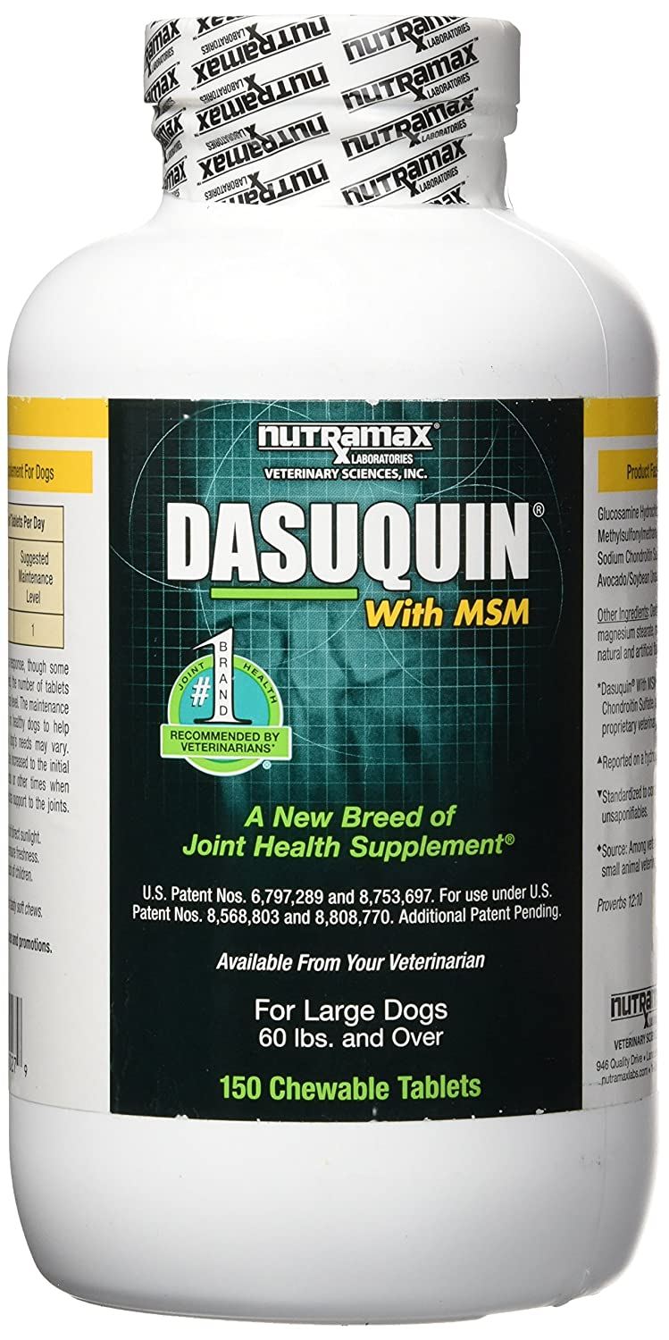 Nutramax Dasuquin with MSM Chewables Large Dog 150 Count