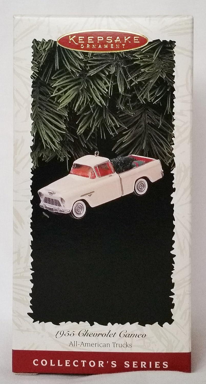 2nd in All American Truck Series QX5241 1996 Hallmark Keepsake Ornament 1955 Chevrolet Cameo