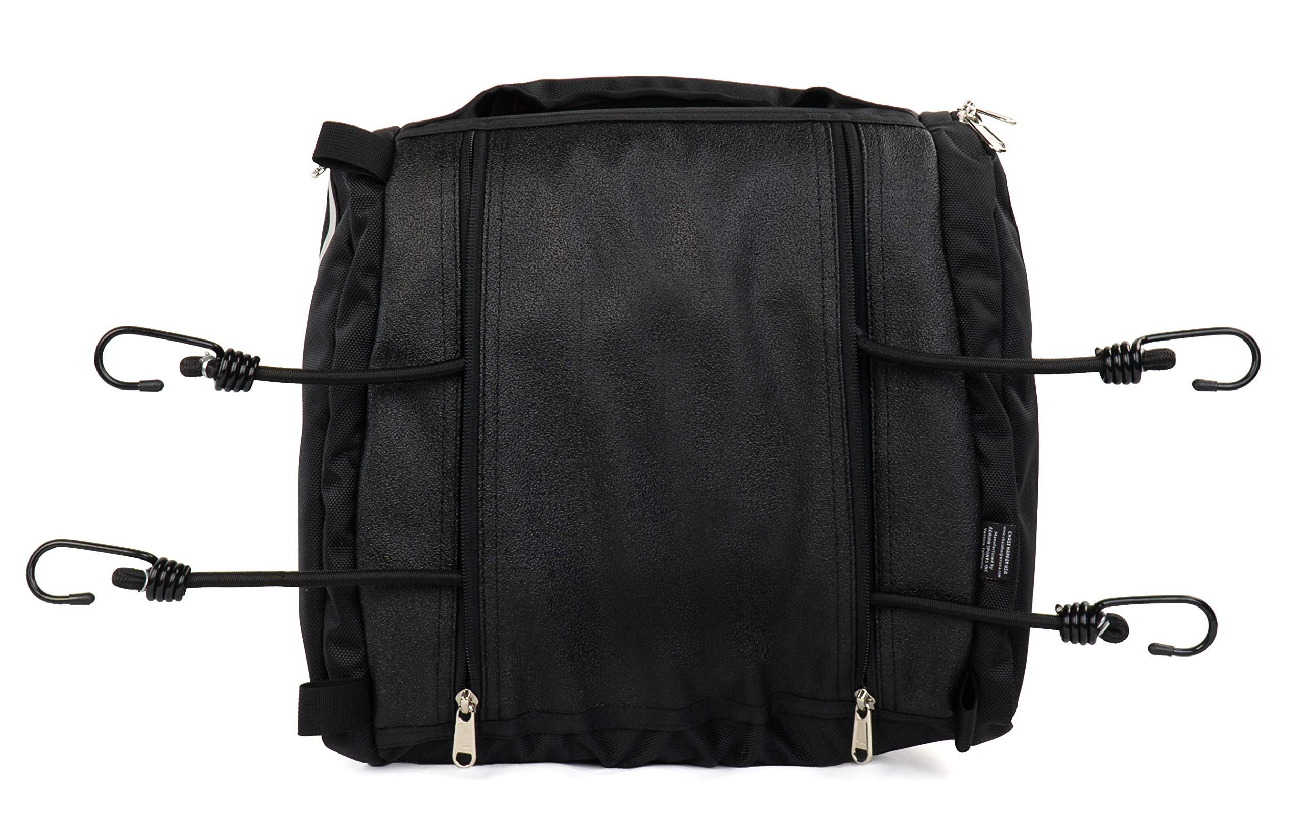 Chase Harper USA 4502 RipStream Tail Trunk - Water-Resistant, Tear-Resistant, Industrial Grade Ballistic Nylon with Adjustable Bungee Mounting System for Universal Fit, 13.5''L x 14''W x 7''H