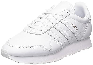 adidas Originals Haven - Baskets - Homme - Blanc (Footwear White/Core Black/Gum), 46 2/3 EU