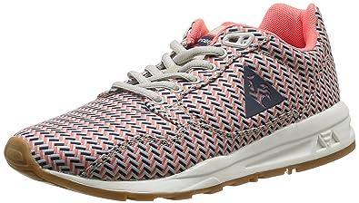 Le Coq Sportif LCS R900 Geo, Zapatillas para Mujer, Gris (Gray CoraGray Morn/Fiery Cora), 36 EU: Amazon.es: Zapatos y complementos