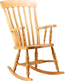 Great TRADITIONAL WOODEN ROCKING CHAIR