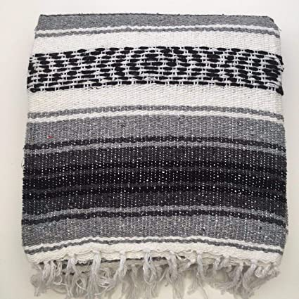 Mexicano falsa Manta/alfombra, 6 colores Mano tejidas ...