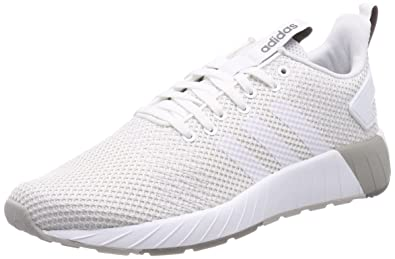 adidas Questar BYD Mens Fashion Trainer Shoe White/Grey - US 8.5
