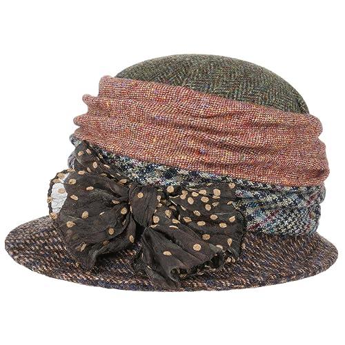 Sombrero Asimetrico Patchwork by GREVI sombrero de inviernosombrero de mujer (talla única - multicol...