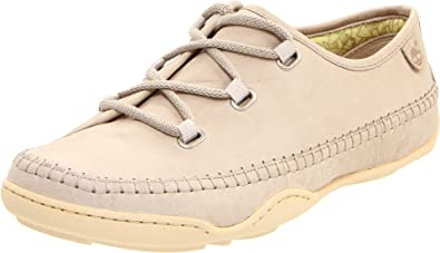 Timberland Women's Earthkeepers BareStep Lace Up Oxford,Off White,6.5