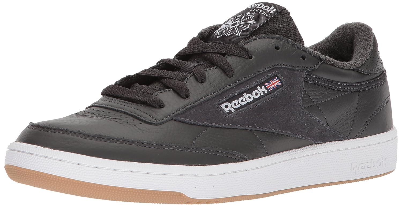 Reebok Men's Club C 85 Estl Sneaker B072Q2ZWZS 12.5 D(M) US|Coal/White/Washed Blue Gum