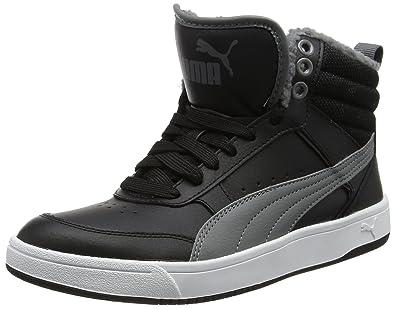 Puma Performance Rebound Street v2 FUR Sneaker schwarz