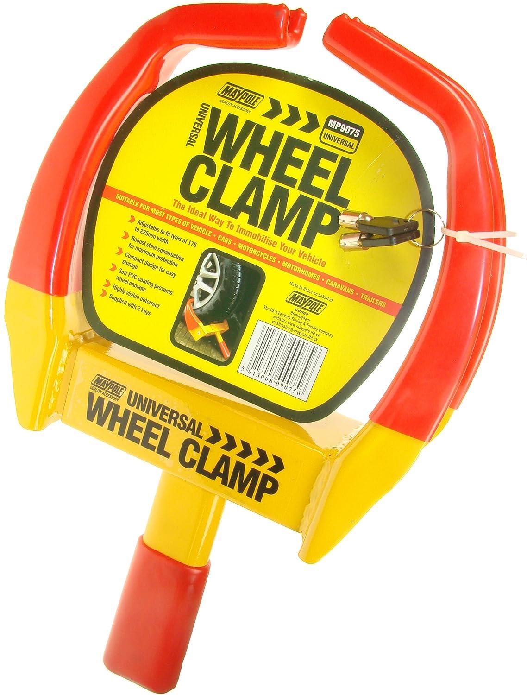 MAYPOLE Universal Wheel Clamp