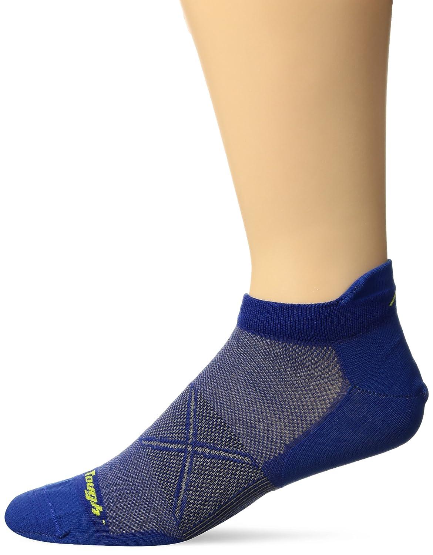 Darn Tough Men's Vertex No Show Tab UL Black/Gray socks L OS