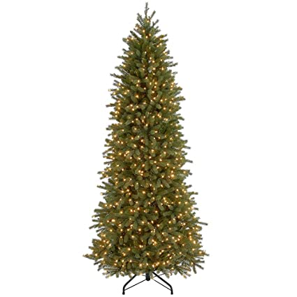 Amazon.com: CC Christmas Decor 7.5 ft. Jersey Fraser Fir Pencil Slim ...