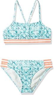 Amazon.com: vivilover niña bañadores volantes Bikini de ...