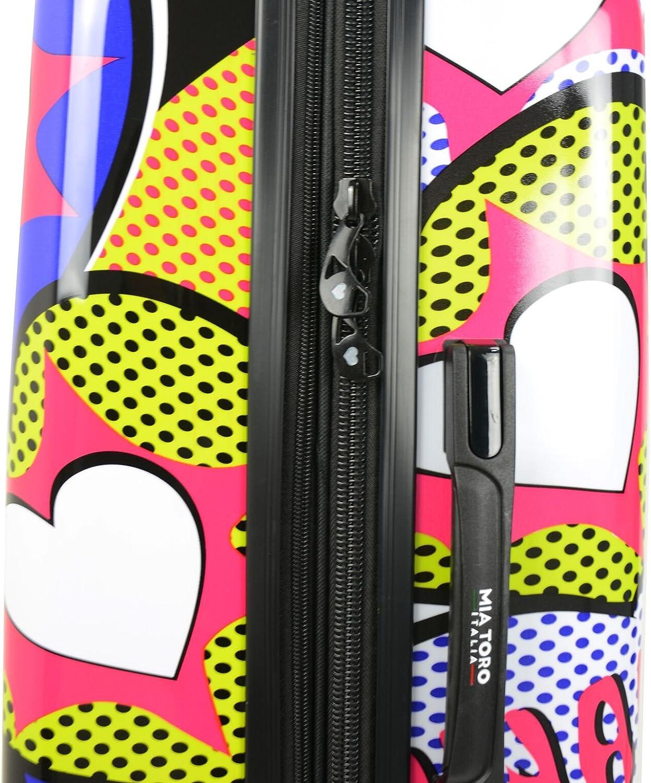 Multi Mia Toro Italy Amore Hardside 28 Inch Spinner Luggage