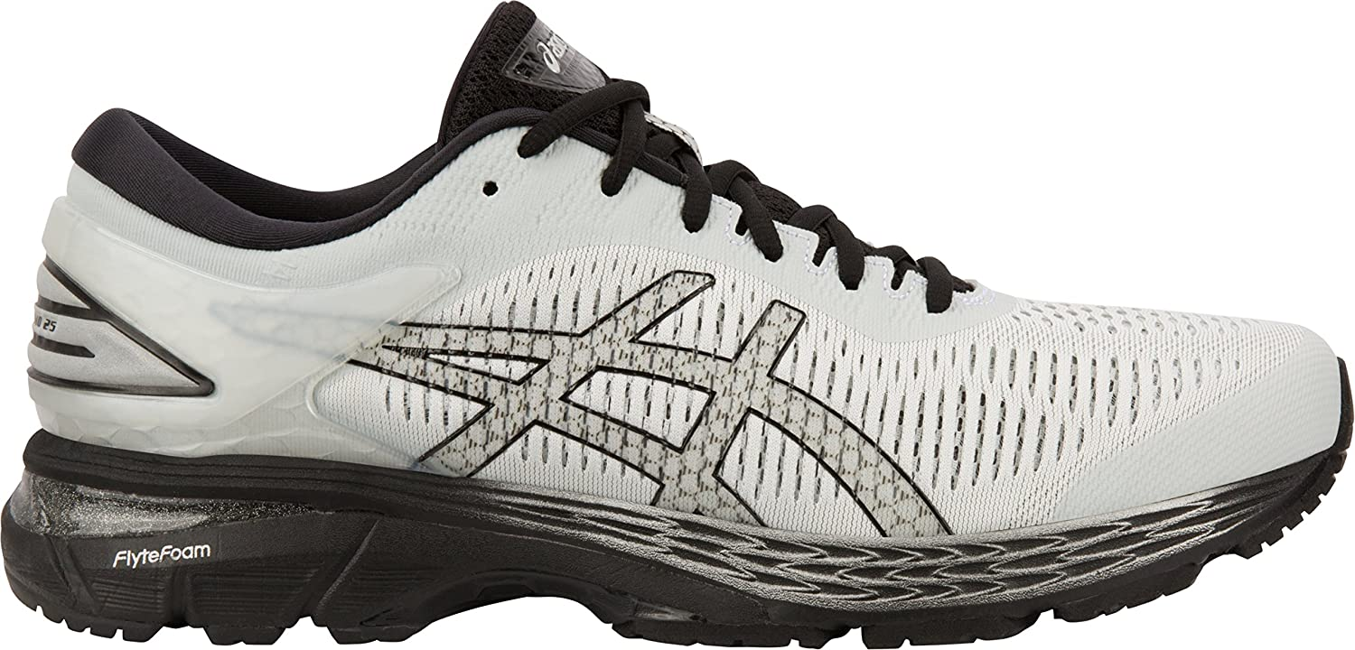 ASICS Gel-Kayano 25 Men's Running Shoe B077MDLVMT 16 4E US|Glacier Grey/Black