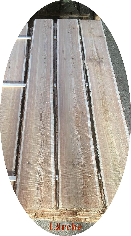 Lagergenial Baumscheibe ca.140 cm, L/ärche L/ärche Bohle Brett Scheibe r/ötliches Holz naturbelassen Holzscheibe